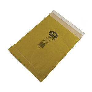 JIFFY BRAND SIZE 2 PADDED MAIL BAG ENVELOPE MAILER / GOLD / 100 PACK / JPB-2