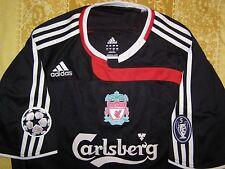 "Gerrard 8 Liverpool 2007 - 2008 away shirt Champions League jersey size ""L"" top"