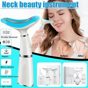 45-Electric-Vibration-3-Color-LED-Photon-Massager-Face-Lifting-Neck-Massager-UK