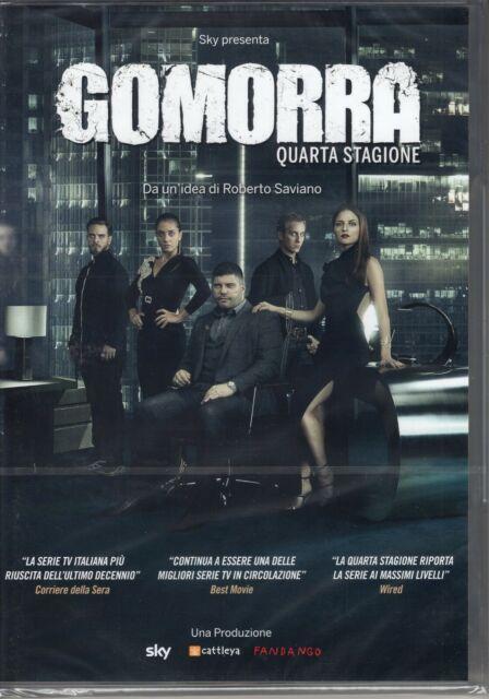 Gomorra. Stagione 4 (2019) 4 DVD
