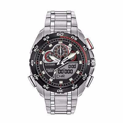 Citizen Eco-Drive Men's JW0111-55E Promaster Racing Chronograph 44mm Watch