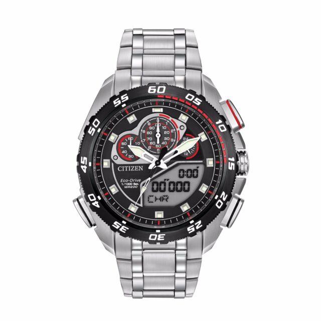 Citizen Eco-Drive Men's JW0111-55E Promaster Racing Chronograph 44mm Watch