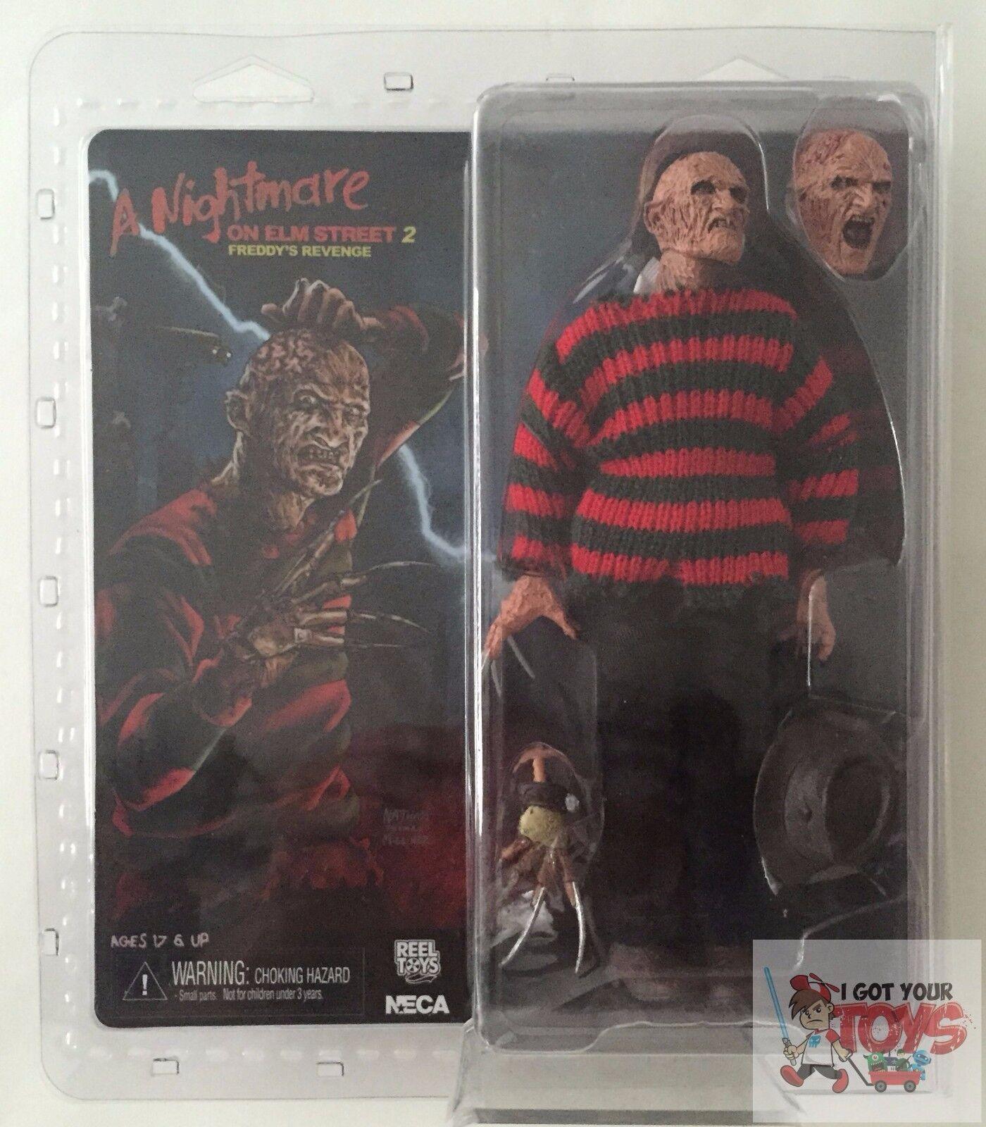 NECA FREDDY 'Freddys Revenge' CLOTHED A Nightmare On Elm Street 8  INCH 2015