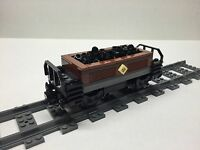 Lego Custom Coal Car For 10194 Emerald Night. Very Nice All Parts