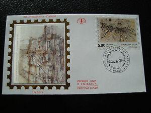 FRANCE-enveloppe-1er-jour-11-12-1993-marie-helene-vieira-da-silva-cy21-french