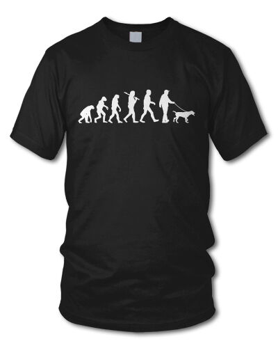Farben S-XXL Hund Hunde Dog EVOLUTION GASSI versch Hundehalter T-Shirt