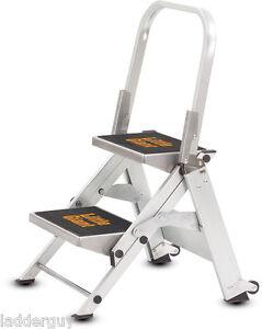 2 Step Little Giant Safety Step Ladder Jumbo 10210b Ebay