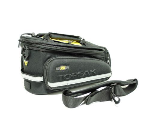 Topeak RX Trunk Bag DXP T9637B Bike Rack Pack Road Hybrid Commuter w// Panniers