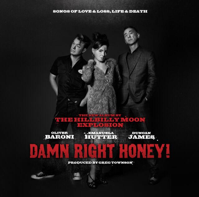 HILLBILLY MOON EXPLOSION 'Damn Right Honey!' CD w/ Paul Ansell, Sparky Phillips