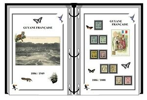 Album-de-timbres-a-imprimer-GUYANE-FRANCAISE