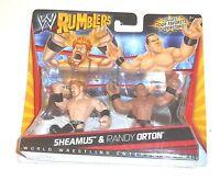 2010 Wwe Rumblers Sheamus & Randy Orton Brand On Card - Misb