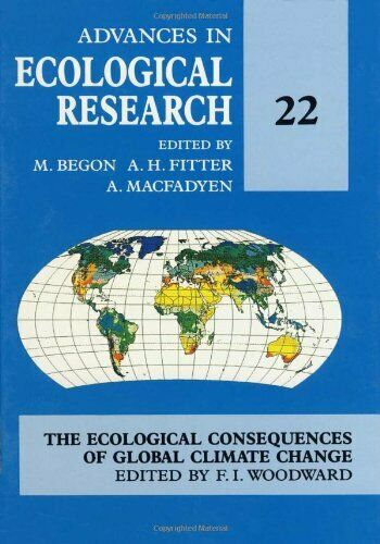 Advances in Ecological Research: v. 22 Hardback Book The Fast Free Shipping