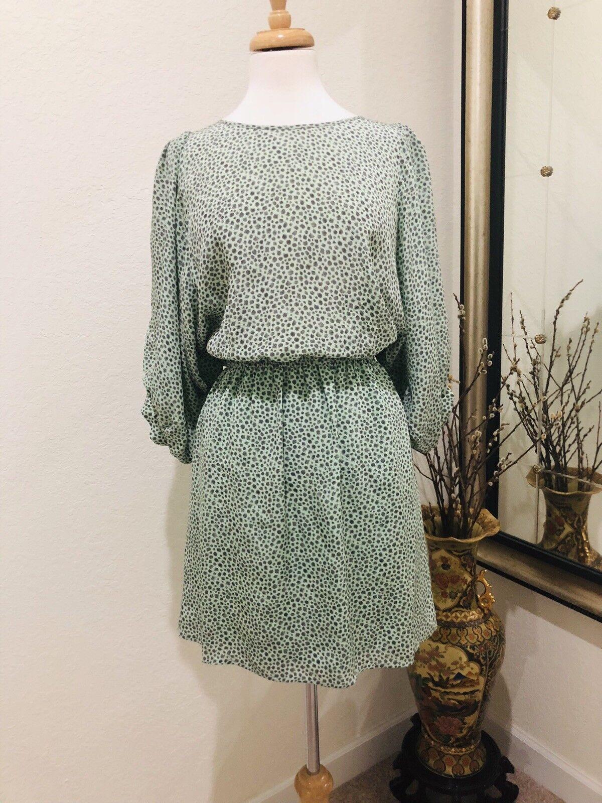 Pippa 100% silk print dress 4