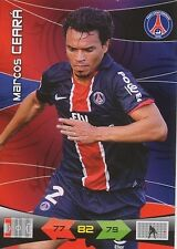 MARCOS CEARA PARIS.SG PSG CARTE CARD ADRENALYN LIGUE 1 2011 PANINI - D