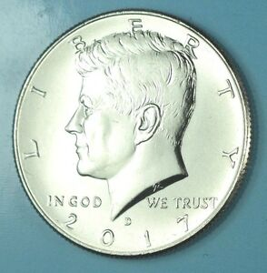 2017-P KENNEDY HALF DOLLAR 50c COIN CLAD UNCIRCULATED READY TO SHIP