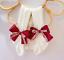 miniatuur 12 - Baby Girls Kids Lace Tutu Flower Bows Elsa Party Costume Tights Newborn Toddler