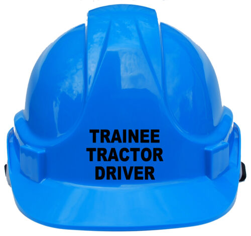 Trainee Tractor Driver Children/'s Kids Hard Hat Safety Helmet Cap One Size