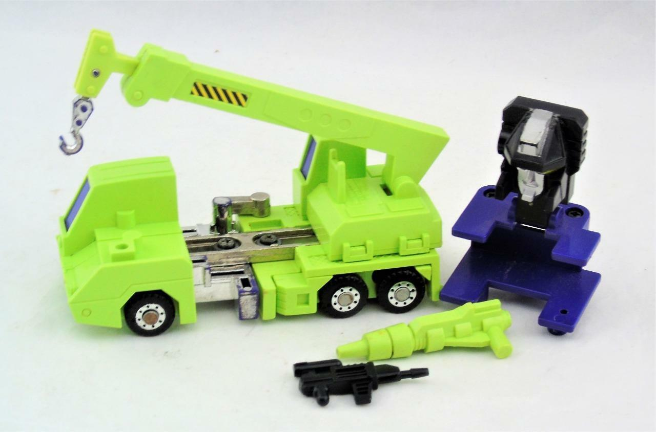 Transformers Original G1 1985 Constructicon Hook Complete for Devastator