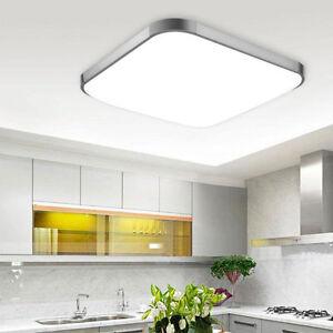 20W Warm/Weiß LED DeckenLampe Deckenleuchte Küchen Wohnzimmer Modern ...