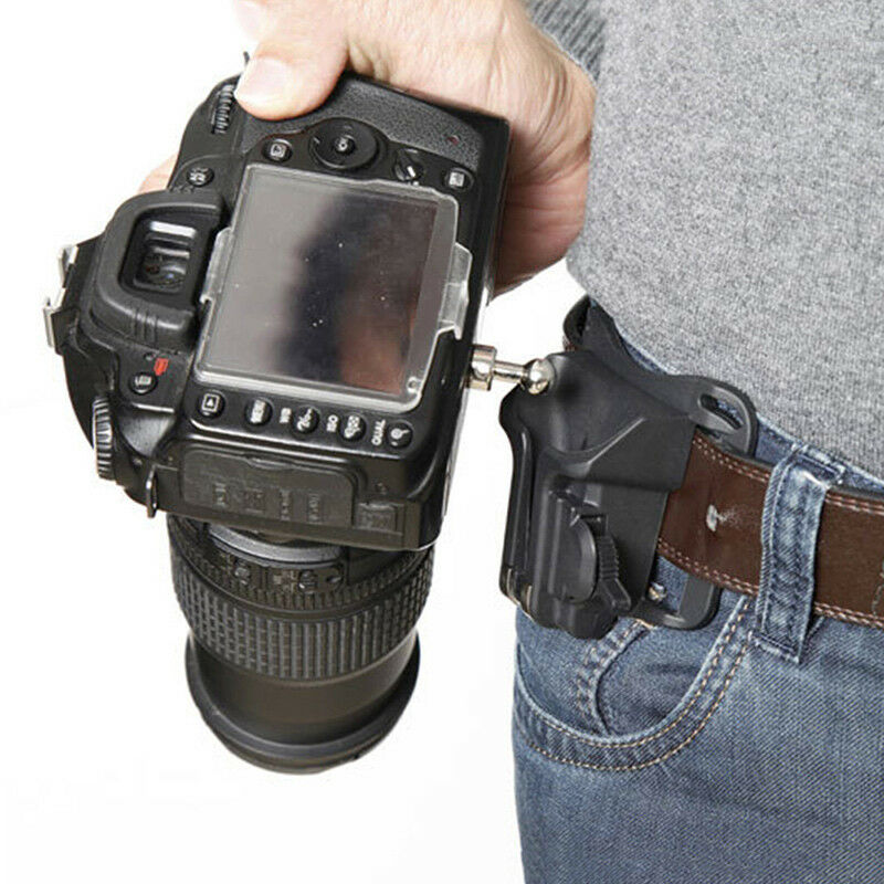 Waist Belt Buckle for Camera Mount DSLR Clip Loading Fast Holster Hanger Holder 9