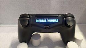 Playstation 4 ps4 controller mortal kombat text led light bar decal image is loading playstation 4 ps4 controller mortal kombat text led aloadofball Gallery