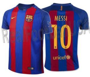 45376aa61b26c A imagem está carregando Nike-Lionel-Messi-Fc-Barcelona-Home-Jersey-Da-