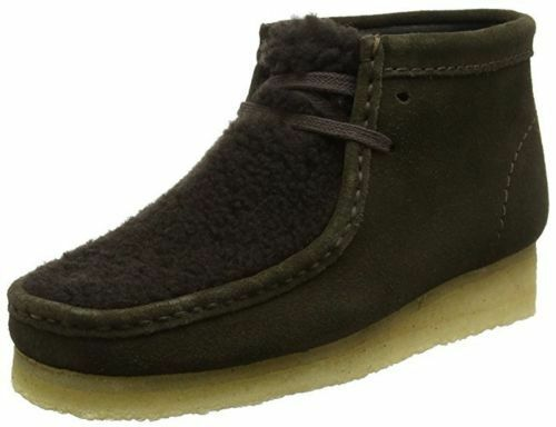 Clarks Originals Femme Wallabee démarrage Bottines en tourbe Daim & 7.5 UK
