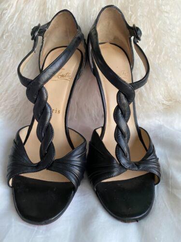 Christian Louboutin t-twist strap shoes