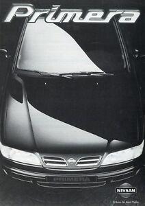 Konstruktiv Nissan Primera Prospekt 8/96 1996 Technische Daten Ausstattung Abmessungen Auto Exquisite Verarbeitung In