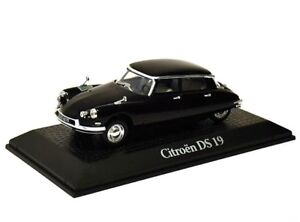 Etat-carrosse-1962-CITROEN-DS-19-CHARLES-DE-GAULLE-metal-Voiture-Miniature-1-43-Norev