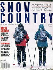 Snow Country Magazine December 1996 Tioga Pass EX No ML 102416jhe