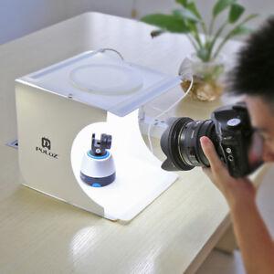Studiofotografie Beleuchtung   Double Led Backdrop Cube Box Licht Raum Beleuchtung Zelt Foto Studio