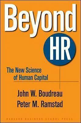 1 of 1 - Beyond HR: The New Science of Human Capital, Very Good Condition Book, Ramstad,
