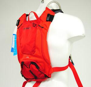 Shimano-Unzen-2-Trail-Daypack-with-2-Liter-Hydration-Bladder-Red