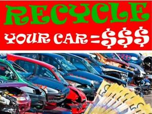 (FREE TOWING)WE PAY TOP $$$ CA$H$$$ FOR SCRAP CARS & USED CARS CALL 416-688-9875 Markham / York Region Toronto (GTA) Preview