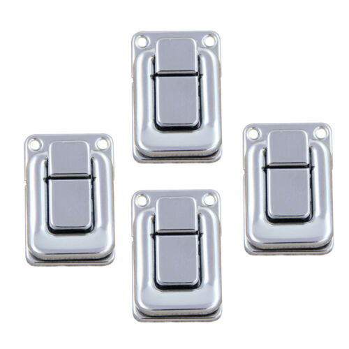 4pc Wooden Boxes Latch Catch Chest Case Stainless Lock Clip with Screws