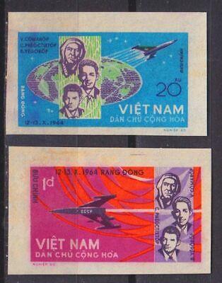 Minr 0359-60 U 1965 Weltraum Angemessener Preis Vietnam Og/no Gum