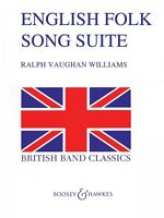 English Folk Song Suite Full Score Concert Band 048006174