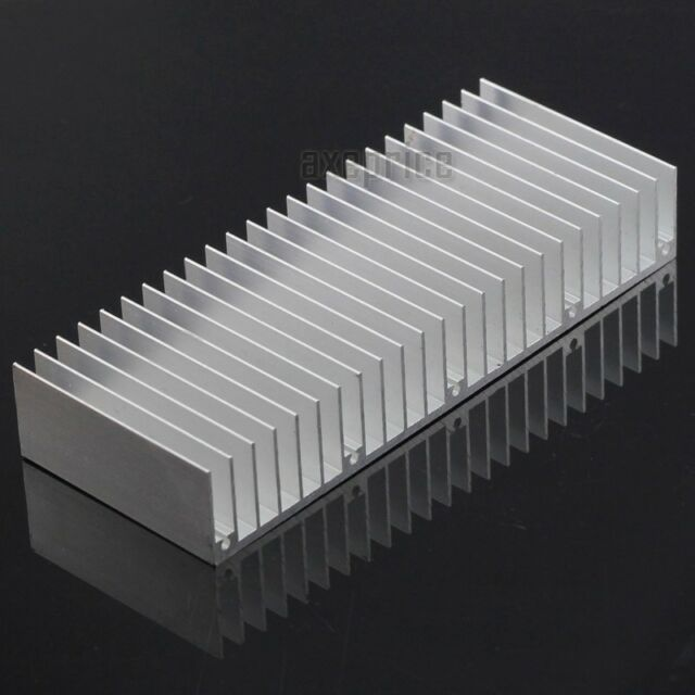 150x60x25mm Aluminum Heat Sink Cooling Fin for LED Power Chip IC SSR Transistor