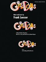 Guys And Dolls Sheet Music Vocal Selections 000446425