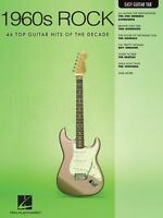 1960s Rock Sheet Music Easy Guitar With Notes & Tab Easy Guitar Book N 000702271