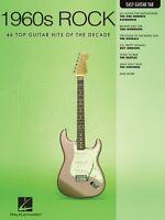 Hal Leonard 1960s Rock Easy Guitar Tab Sheet Music