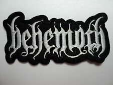 BEHEMOTH SHAPED EMBROIDERED PATCH