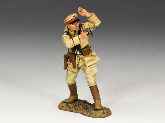 King & Country AL054 German Officer w Pistol MIB