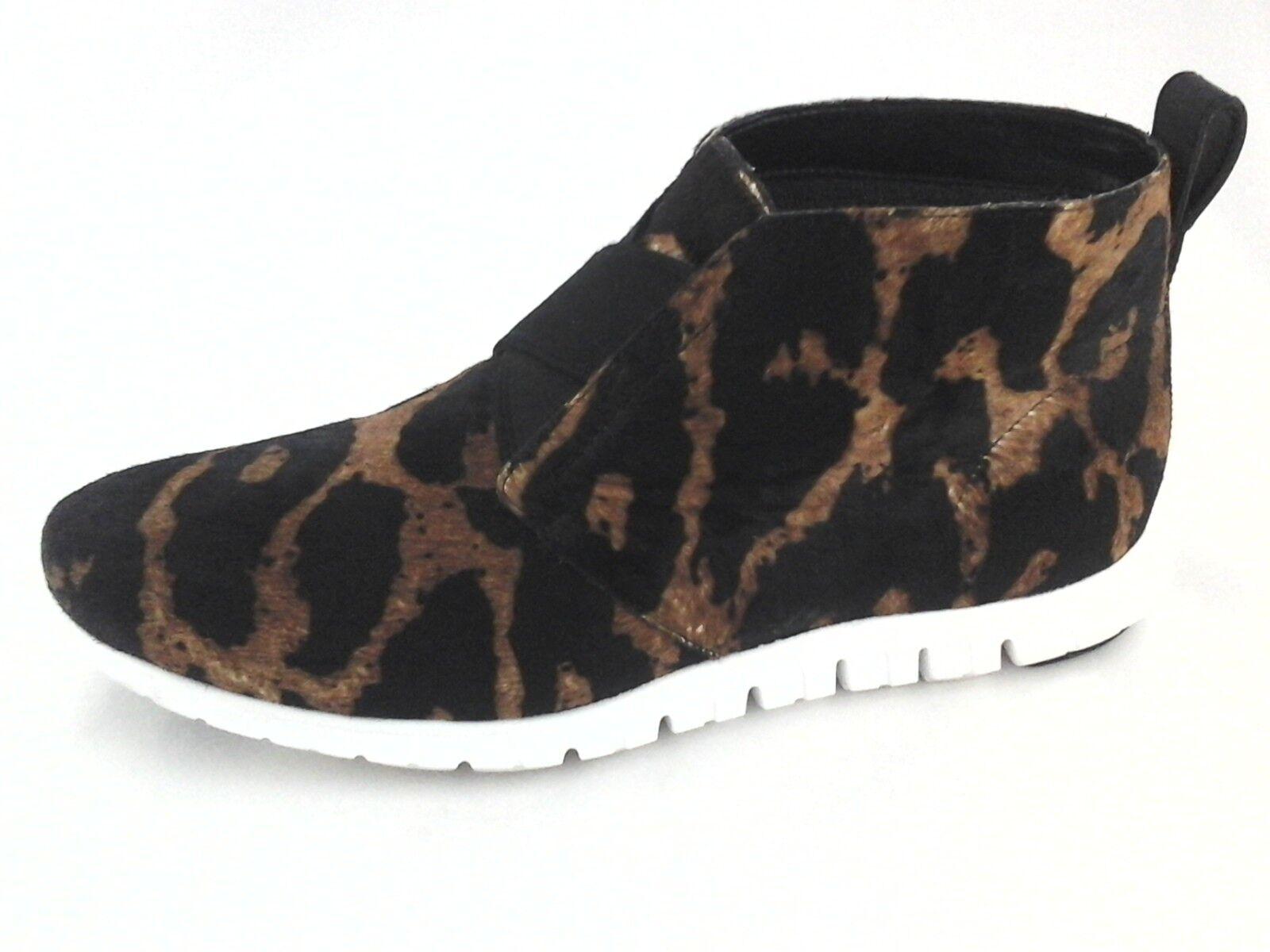 af9562e7a62 COLE HAAN Chukka Bootie Leopard Calf Hair Shoes Sneakers Women's US 8 EU 39  $228