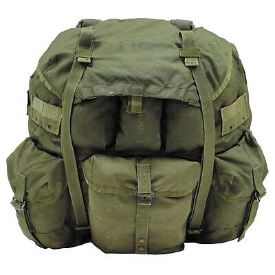 Us Army Alice Military Rucksack Pack Large Od Green Oliv AusgewäHltes Material