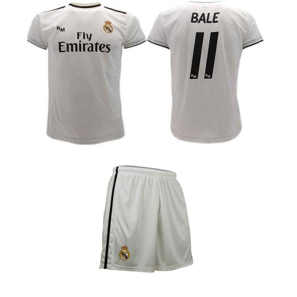 Set Ballen Real Madrid offizielle 2018 2019 Trikot Shorts Erwachsene home 11