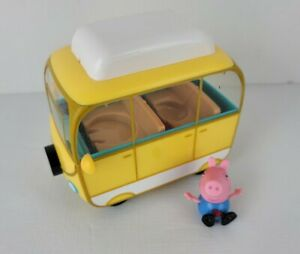 Peppa Pig Little Campervan Vehicle With George Figure
