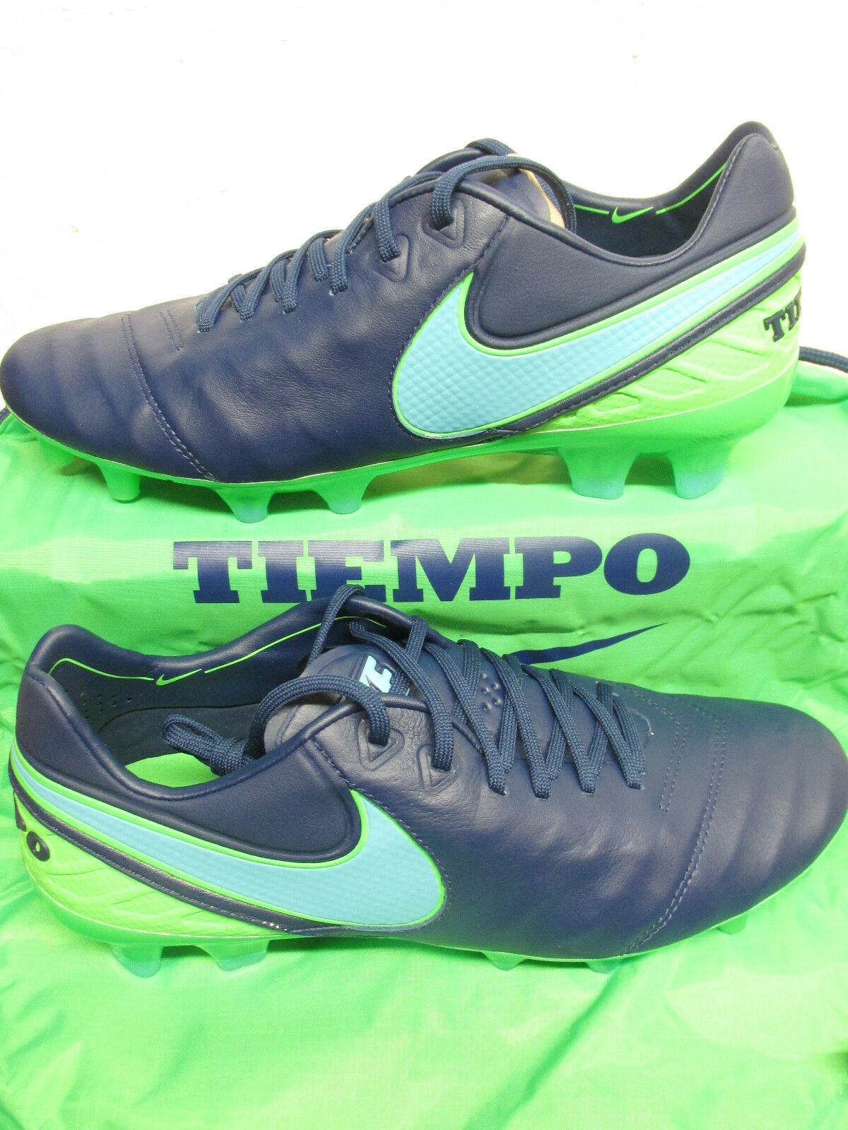 nike tiempo legend VI FG homme  football boots 819177 443 soccer cleats