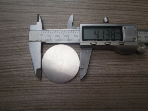 BLANKS 41 mm diameter x .9 mm thickness 20 gauge A 25 PACK OF ALUMINIUM DISCS